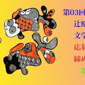 第03回 金魚屋新人賞(辻原登小説奨励賞・文学金魚奨励賞共通)応募要項